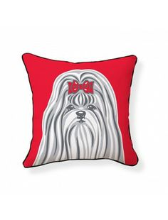 Naked Decor Shih Tzu Pillow now @ Nimli