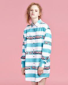 Lazy Oaf Tomorrow Stripe Shirt