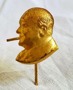 Old Winston Churchill pin