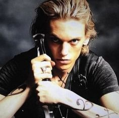 Jamie Campbell Bower as Jace Wayland in The Mortal Instruments: City of Bones
