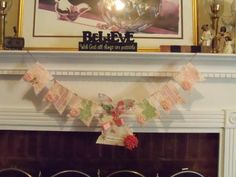 Angel Diann's Emporium Easter Garland SOLD Easter Garland, All Things, Banner, Frame, Picture Banner, Banners, Frames