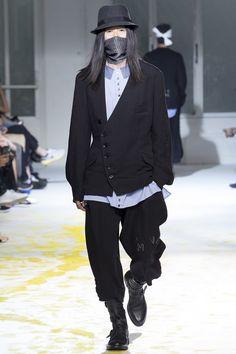 Yohji Yamamoto • Spring/Summer 2015 Menswear • Paris