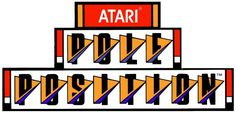 "The logo from Atari's 1982 racing arcade game ""Pole Position"""