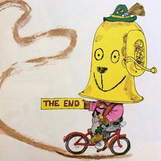 Goodbye June! Illustration by the incomparable Richard Scarry.