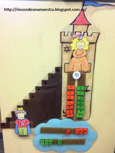 Risultati immagini per princesa besucona Math For Kids, Games For Kids, Diy For Kids, Crafts For Kids, 1st Grade Math, Kindergarten Math, Teaching Aids, Teaching Math, Math Games