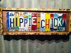 Trailer Tags - hippie-chick - Recycled License Plate Art, Sign for your Home, Cabin or Business Decor -- peace, man. Hippie Peace, Hippie Love, Hippie Chick, Hippie Bohemian, Hippie Style, Happy Hippie, Hippie Vibes, Peace Love Happiness, Peace And Love