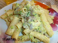 Questa pasta con zucchine è veloce e semplice...si può fare all'ultimo momento ed è gustosissima!!!