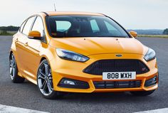 View 2015 Ford Focus ST: Tweaked for Your Pleasure Photos from Car and Driver. Find high-resolution car images in our photo-gallery archive. Ford Rs, 2019 Ford, Ford 2015, Bugatti, Lamborghini, Ferrari, Audi, Porsche, Bmw
