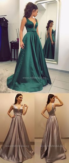 Long Prom Dresses,Dark Green Prom Dresses Prom Dresses Open Back,Vintage Inspired Prom Dresses Sleeveless Dark Green Prom Dresses, Modest Formal Dresses, Junior Prom Dresses, Affordable Prom Dresses, Formal Dresses For Teens, Elegant Prom Dresses, Long Prom Gowns, Beautiful Prom Dresses, Prom Dresses Online