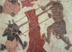 Mehmet Siyah Kalem (Siyah Qalem, Siyah Qalam), Mehmet Matita Nera, un grande maestro misconosciuto. Iranian Art, Fantasy Monster, World Images, Classical Art, Arabian Nights, Mythical Creatures, Painting Prints, Modern Art, Medieval
