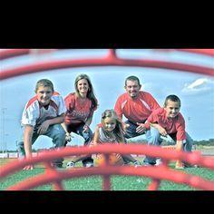 family football photo ideas