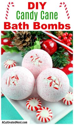 DIY Candy Cane Bath