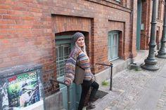Pattern for Tilda multi coloured knitting cardigan Mohair Sweater, Knit Cardigan, Danish Design, Knitting, Sweaters, Color, Patterns, Tricot, Velvet