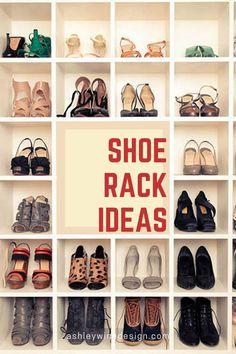 47 Awesome Shoe Rack Ideas in 2020 (Concepts for Storing Your Shoes) - Most Expensive Shoes, Shoe Organizer, Shoe Collection, Your Shoes, Shoe Brands, Luxury Branding, Shoe Rack, Diy Furniture, Gucci