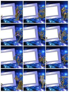 Знаки Зодиака - набор рамок для фото в формате PNG
