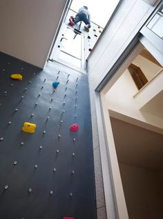 Do I climb? No, not really. But do I think this is awesome and now want a climbing wall in my home? Absolutely.