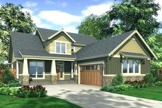 Modular home designs craftsman style plans prairie ranch homes 7 Craftsman Style House Plans, Ranch House Plans, House Floor Plans, Craftsman Homes, Acadian Homes, Craftsman Farmhouse, Craftsman Bathroom, L Shaped House Plans, Maine