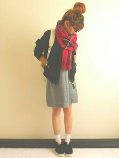 Ayumiさんのバレッタ/ヘアクリップ「LOWRYS FARM カタチヘアピン 569504」を使ったコーディネート