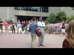 """""""Anti-gay preacher visits campus: & is drowned out by Love & Tolerance - Be Proud! This is just one example. Our kids are standing up against homophobia, racism, sexism, and despair all over the country. You Raise Me Up, James Madison University, German People, Christian Songs, Jesus Loves You, Atheism, College Students, Virginia, Hate"""