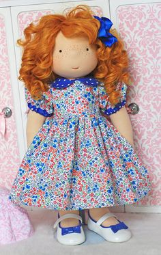 """Pretty As A Picture Dress for 18"""" dolls"""