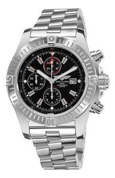 Breitling Men's A1337011/B907 Super Avenger New Black Chronograph Dial Watch Breitling http://www.amazon.com/dp/B0054QIZ7K/ref=cm_sw_r_pi_dp_Gq7Otb1TZSVY3K6C