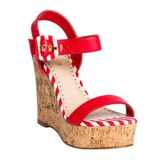 Vibiana Wedge Scarlett, $59, now featured on Fab.