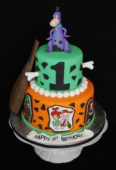 Flintstones+And+Friends+Chocolate+Lollipops+Party+Favors+cakepins.com