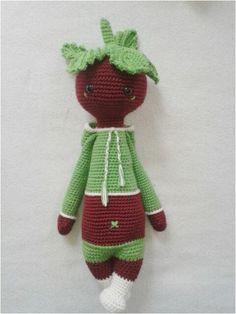 Green Love, lalylala mod by crochet pattern www.lalylala.com from Lydia Tresselt