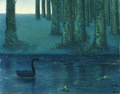 The Black Swan - William Degouve de Nuncques