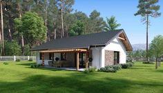 Simple House Design, Simple Designs, House Viewing, Smart Design, Modern House Plans, Design Case, Cottage Homes, Farmhouse, Exterior