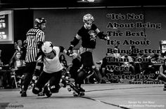 Rollerderby mentality at its finest! #rollerderby #forestcityderbygirls #london #londonontario