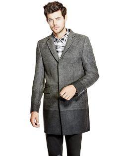 Kevin Wool-Blend Coat