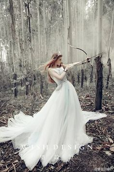 Nice long white dress – like a princess – warrior princess Fantasy Photography, Fashion Photography, Photography Flowers, Wedding Photography, Horse Girl Photography, Photography Timeline, Photography Classes, Photography Magazine, Editorial Photography