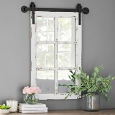 Rustic Home Decor easy peasy inside wire - A super appealing collection on rustic room styling inspirations and other ideas. Have a try at the pin help id 1806162675 , sectioned in category rustic country home decor also generated on 20190103 Farmhouse Mirrors, Country Farmhouse Decor, Farmhouse Style, White Farmhouse, Farmhouse Windows, Modern Country, French Country, Rustic Style, French Farmhouse