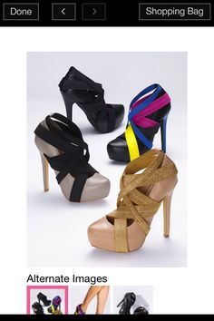 84b042724cc Just bought the tan gold ones  ))) Strappy Platform Pump - Colin Stuart® - Victoria s  Secret