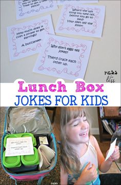 These lunch box jokes for kids had my little ones laughing all day long. Download the free printables and head back to school with some laughs #ad /rubbermaid/