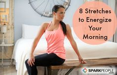 Rise and Shine: 8 Stretches You Should Do Each Morning  ┊  ┊  ☆ Follow me ---> https://www.facebook.com/TNTSassyRedHead ┊  ★Visit my web site ---> http://tntbender.EatLessWithSkinnyFiber.com/ ☆Join my Group https://www.facebook.com/groups/GetYourSkinnyOnWithTnT/