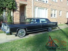 """Probably in my top 6 """"dream cars""""!  1976 Lincoln Continental Town Car"""
