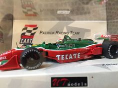 UT Models Cart Patrick Racing Team Racing Car 1 43 Adrain Fernandez Tecate 1998 | eBay