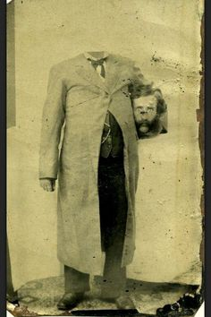 13 Wonderfully Weird Headless Victorian Photographs