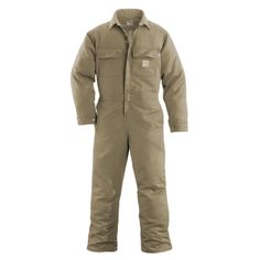 Carhartt 100162 Men's Flame-Resistant Work Coverall #Carhartt #Coverall