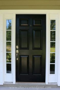 Fiberglass Exterior Front Doors | Another advantage of the given ...