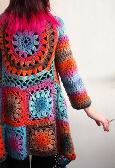 VMSom Ⓐ basket: Puro - ILO cardigan - Another beautiful blog post with wonderful photo tutorial. Worth taking a look even if you don't plan to make this cardigan.