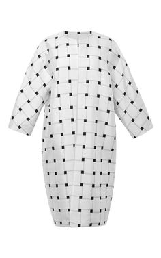Single Jacquard Weave Overcoat by Josh Goot - Moda Operandi