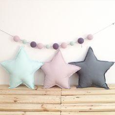 #star #pillow #cushion #radosnafabryka
