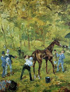 Souvenir of Auteuil, 1881 - Henri de Toulouse-Lautrec - WikiArt.org