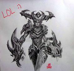 11 Best League Of Legends Drawing Champions Images Legend