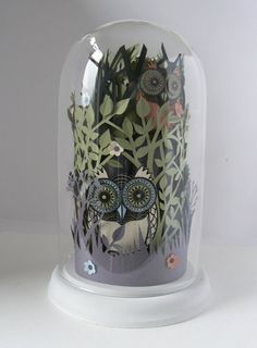 papercut works from artist Helen Musslewhite