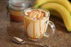 Barefeet In The Kitchen: Caramel Peanut Butter Banana Milkshake Smoothie