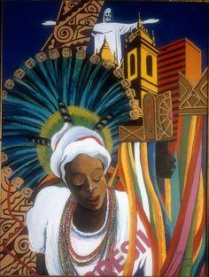 590b9a8dbb545e Lois Mailou Jones - Égyptien Reine